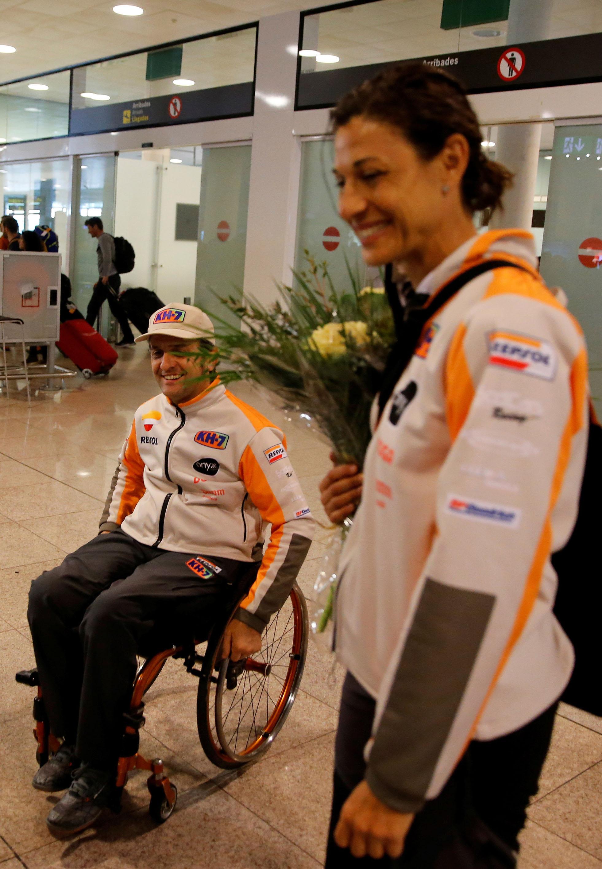 Isidre Esteve vuelve tras el Dakar 2018