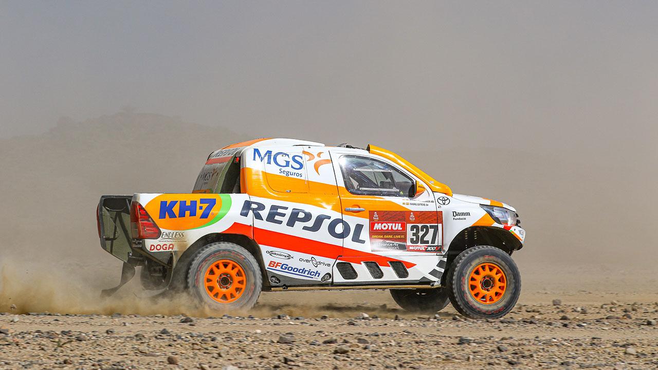 Dakar 2021 día 1: Isidre Esteve escala posiciones y ya está en el top 30