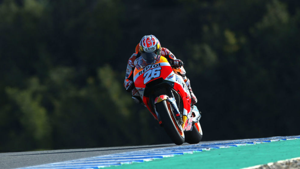 Dani Pedrosa to start from second at Jerez and Marc Márquez from fifth