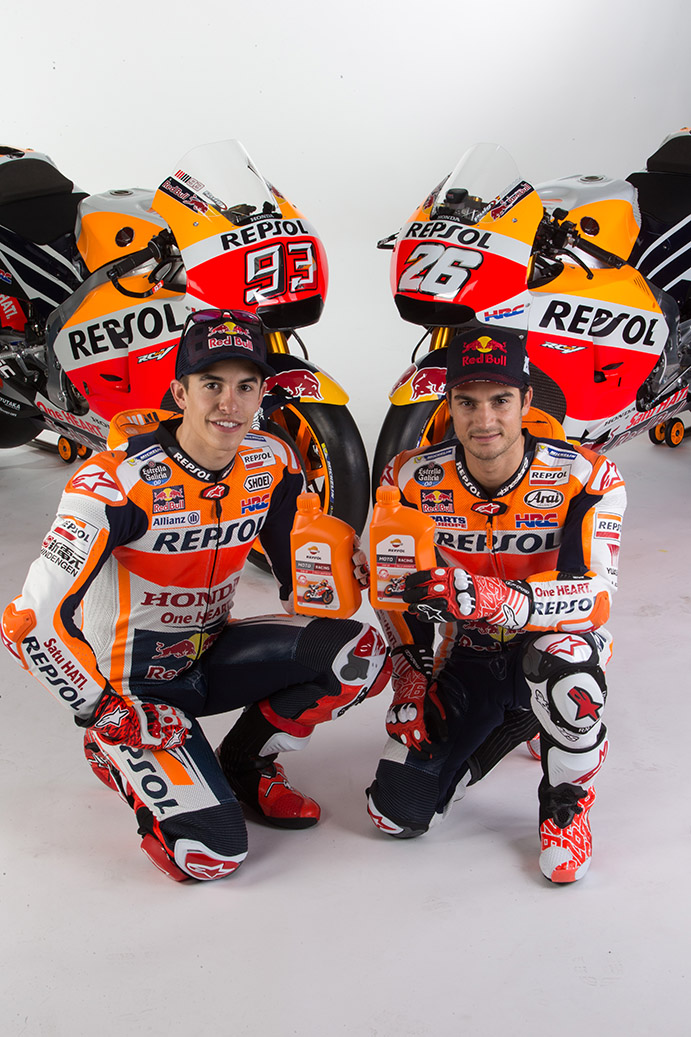 Dani Pedrosa and Marc Márquez