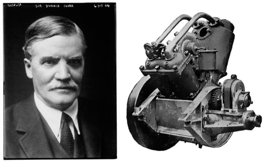 Dugald-Clerk-constructor-primer-motor-2-tiempos-1878