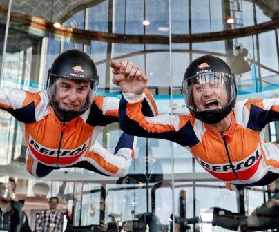 Marc Márquez y Dani Pedrosa quieren volar alto esta temporada