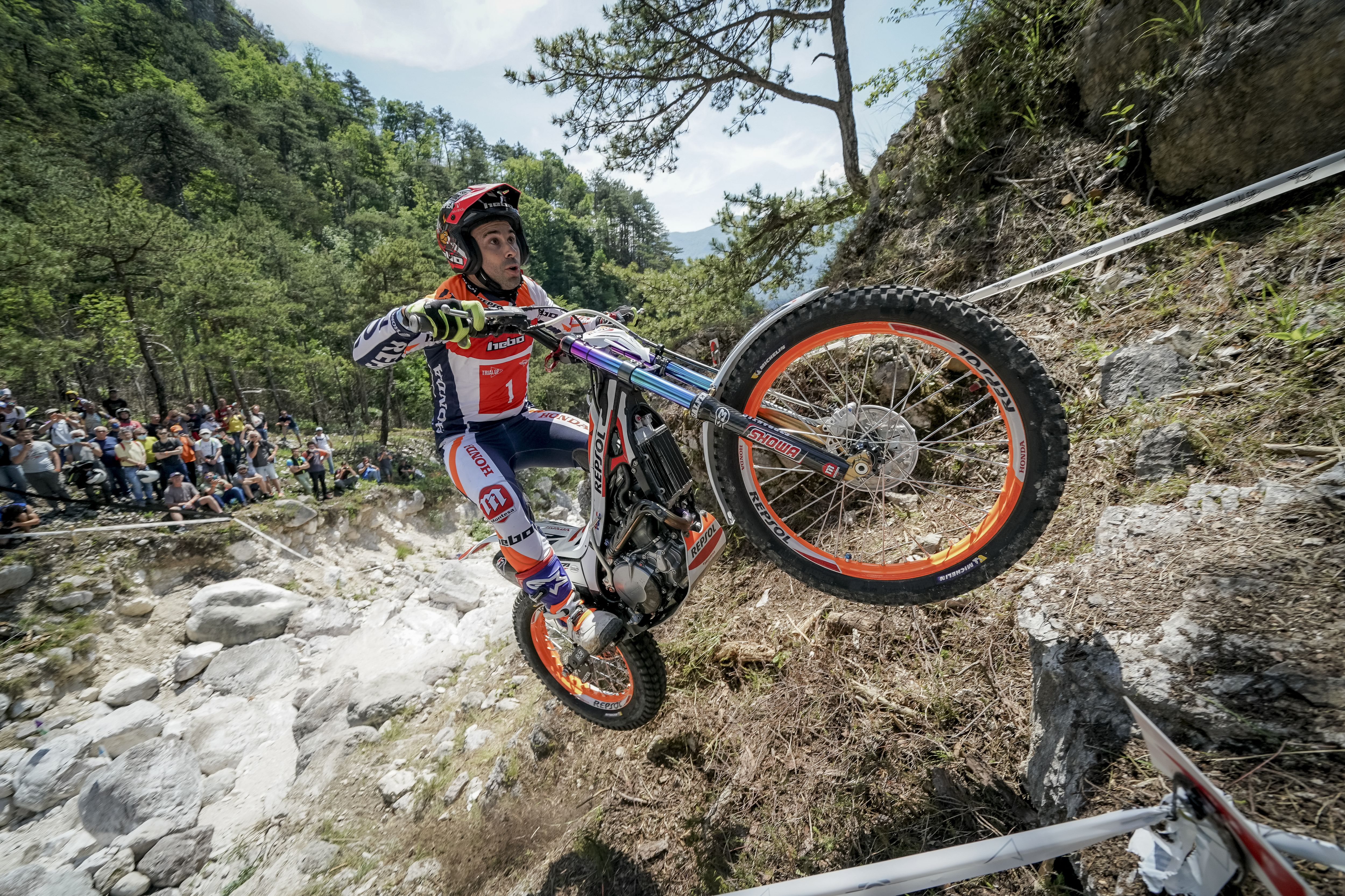 France awaits leader Toni Bou for the third trial of the world championship