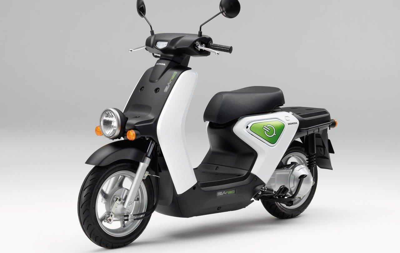 prototipo moto electrica honda