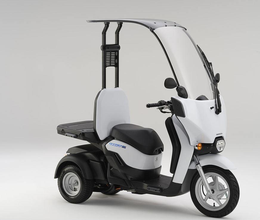 moto electrica honda con respaldo