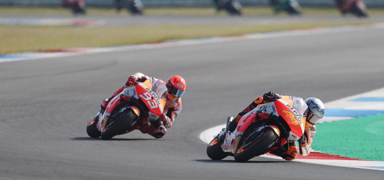 El equipo Repsol Honda vuelve a la acción en Austria