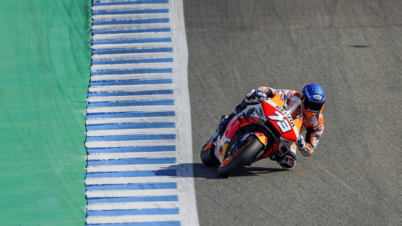 Step forward for Álex Márquez on first day of practice