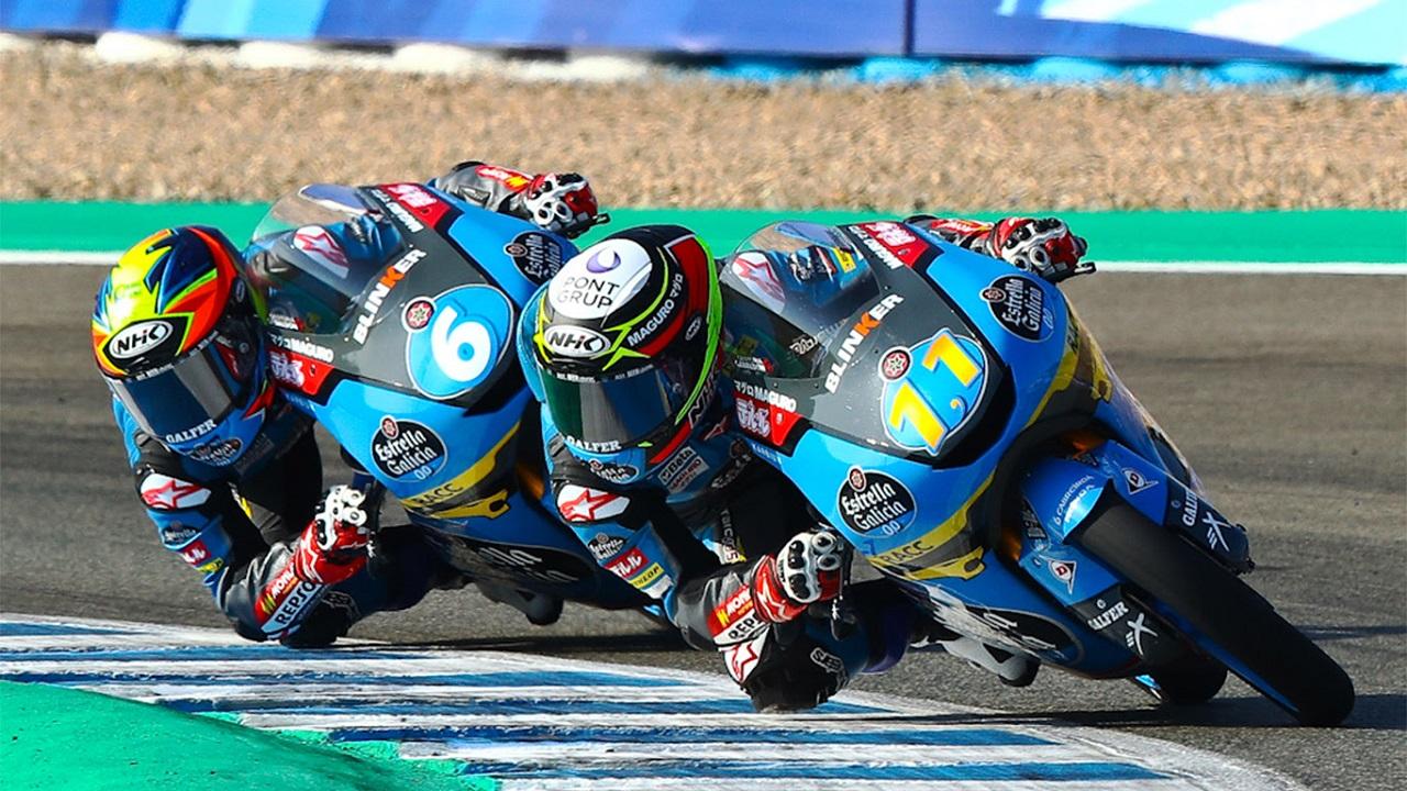Sergio García Dols y Ryusei Yamanaka firman una gran carrera en Jerez