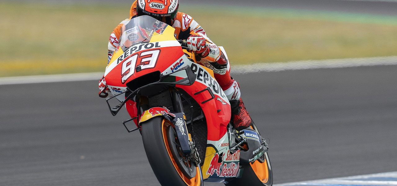 Marc Márquez ends Andalucía Grand Prix early