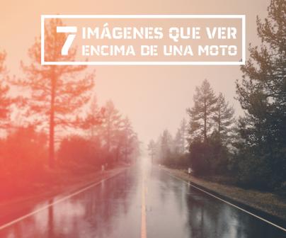 Carretera lluviosa