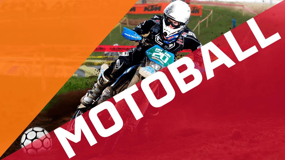 Motoball es fútbol y motos o dicho de otra manera: tu deporte
