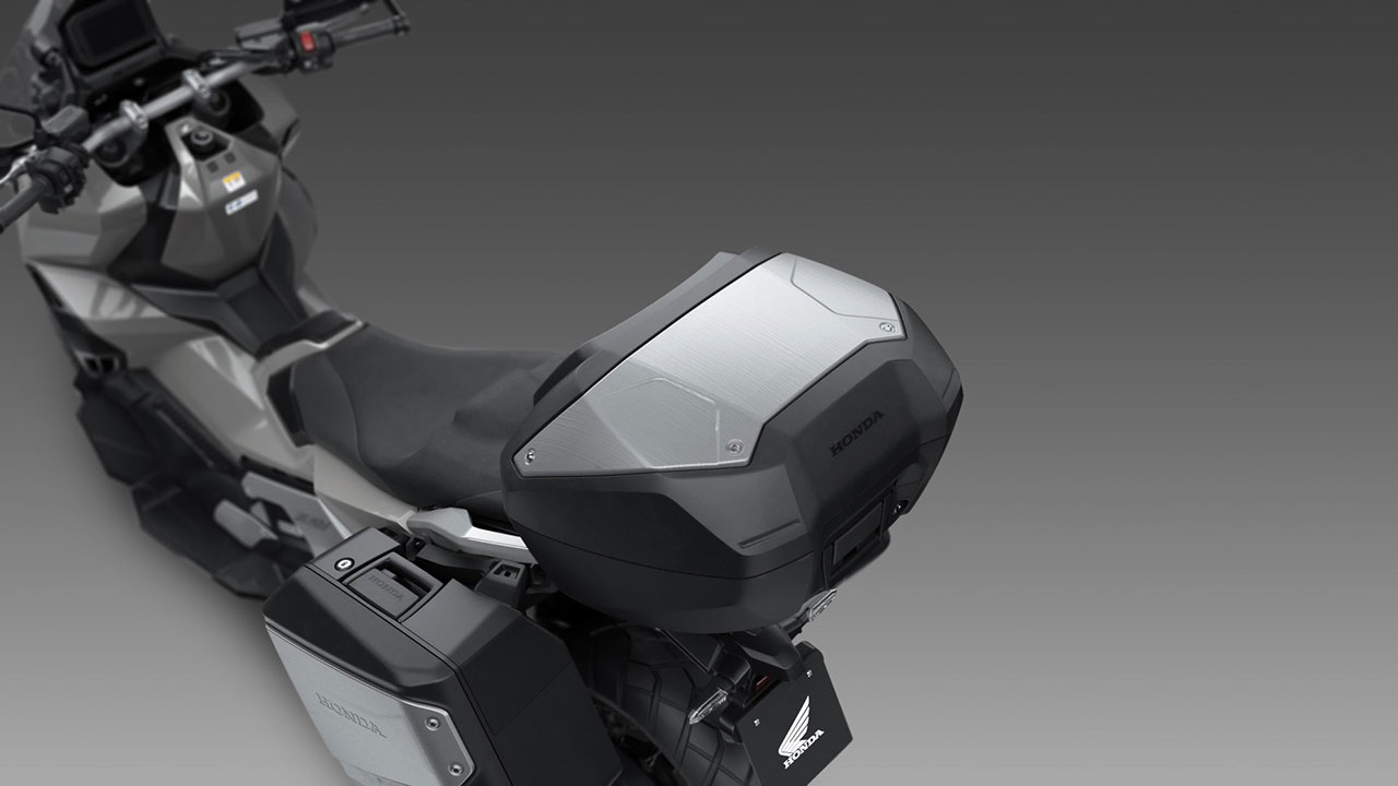 Baúl trasero del Honda X-ADV 2021