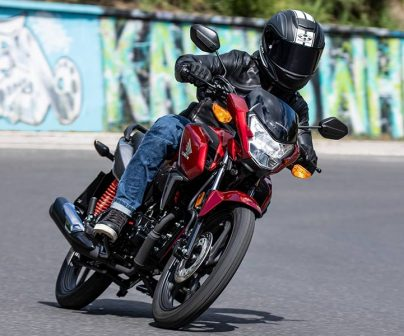 Honda CB125F motos para el carnet de coche