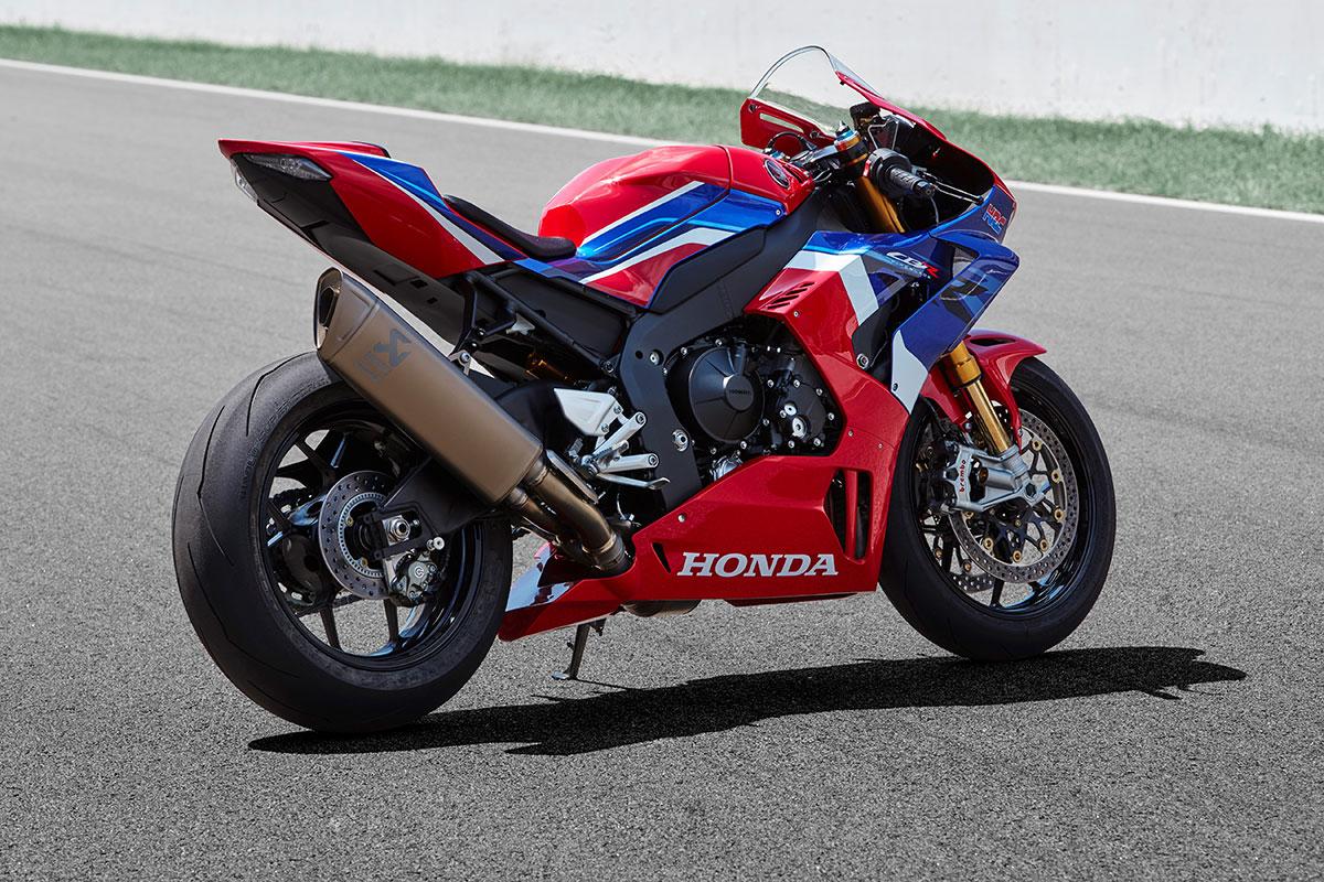 Honda CBR 1000 RR-R Fireblade SP trasera