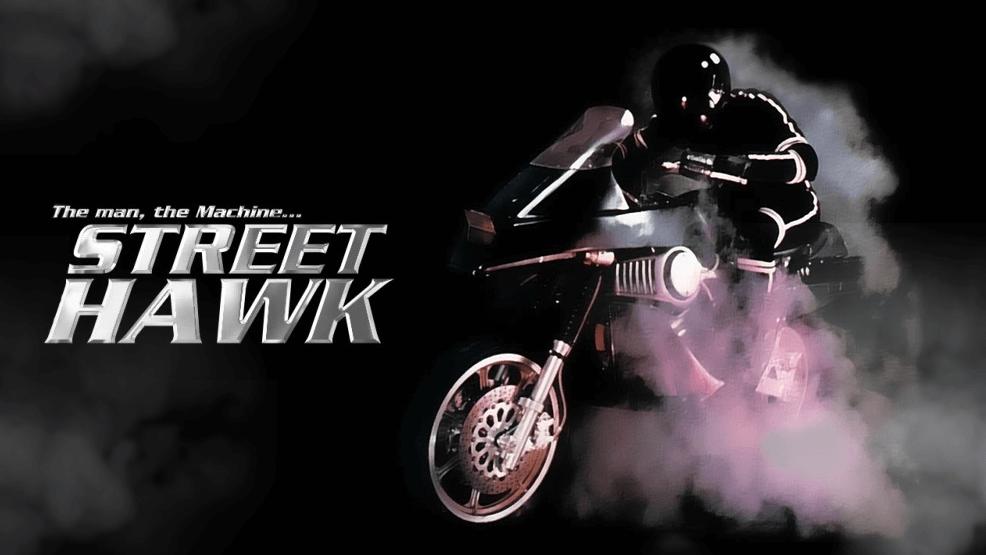 'Halcón callejero', la primera moto superhéroe