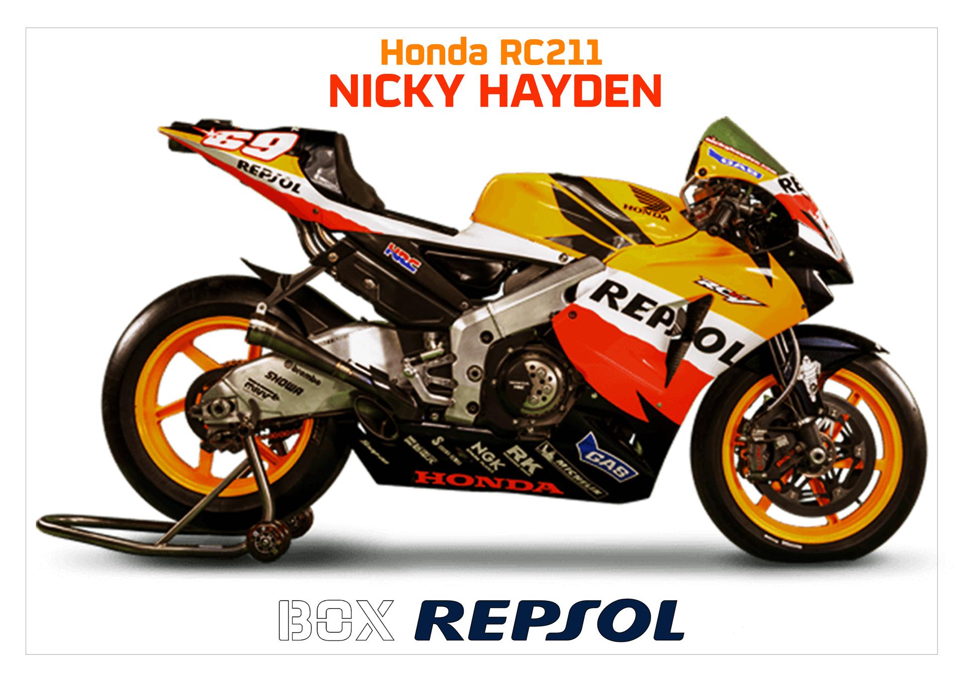 Honda RC211V. Nicky Hayden