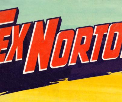 Tex Norton. Héroe motero de cómic.
