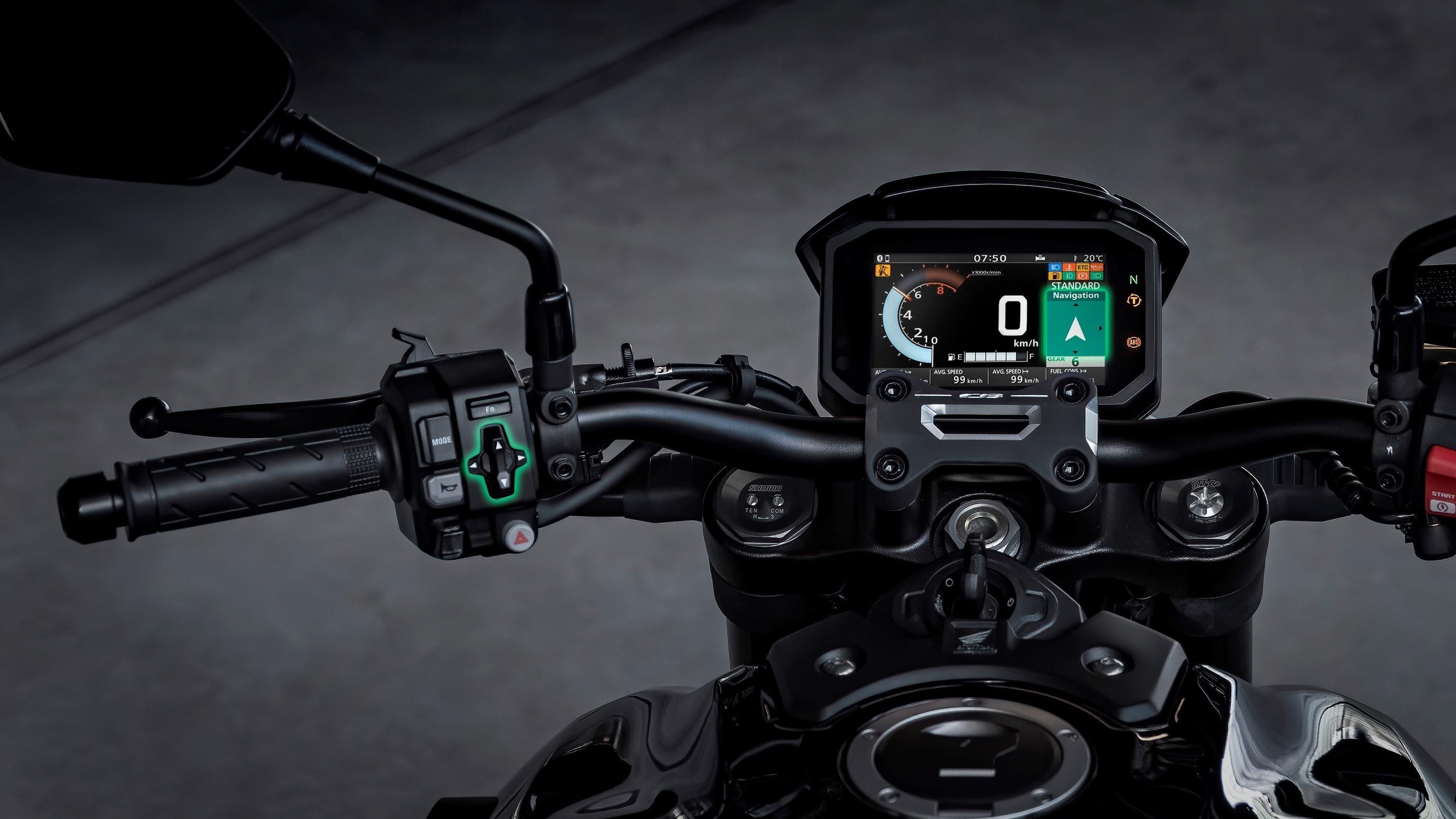 intercomunicador moto, Honda Smarphone Voice Control System