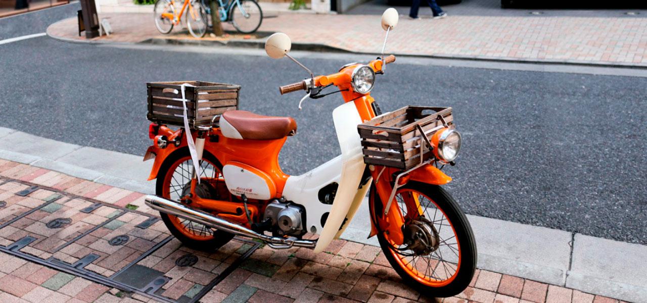 Honda Super Cub: la moto de los récords