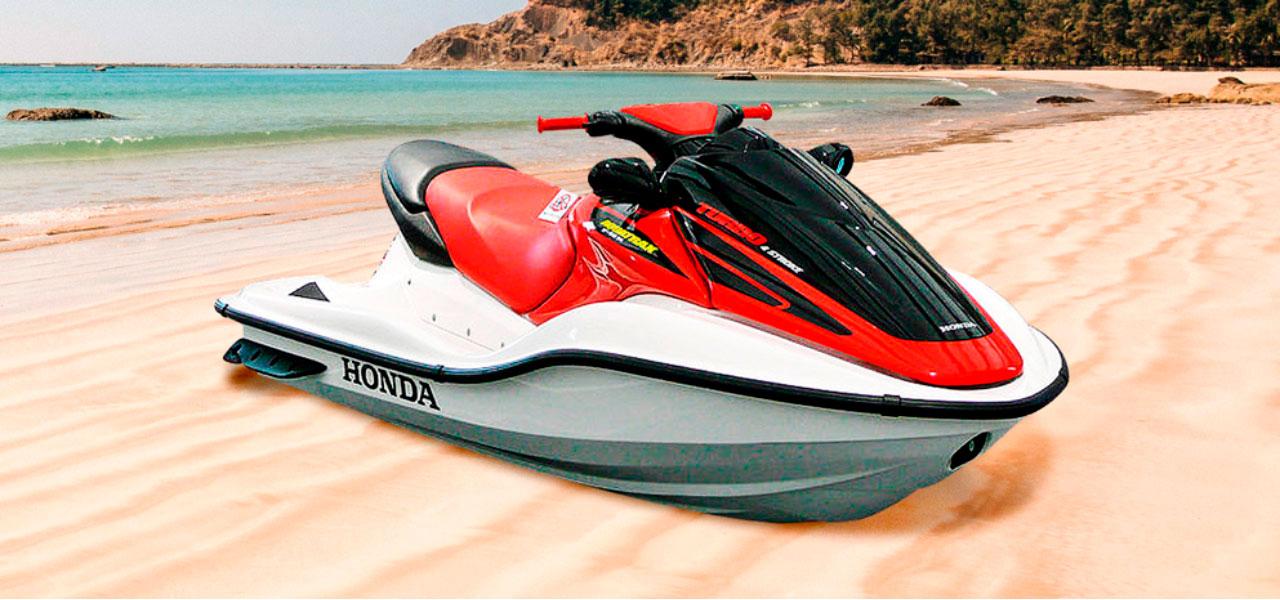 Honda Aquatrax F12 X 2002: olas de adrenalina