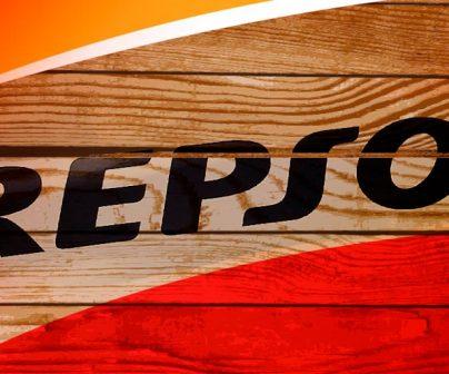 Grabado Repsol no-oficial sobre madera