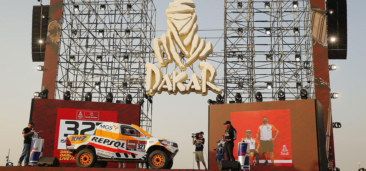 Isidre Esteve inicia el Dakar 2021, contento y con muy buen 'feeling'