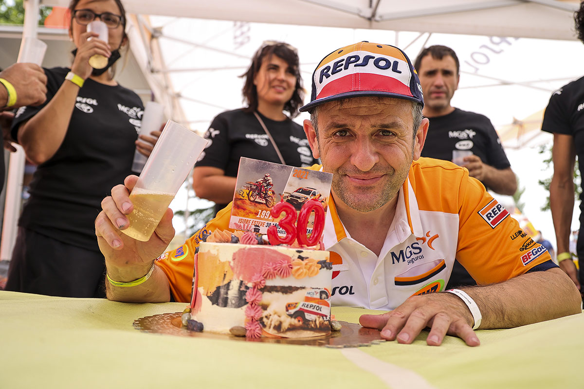 Isidre Esteve 30 years of Baja Aragon during the 2021 Baja Espana Aragon, 5th round of the 2021 FIA World Cup for Cross-Country Bajas, from July 22th to 25th, 2021 in Teruel, Spain - Photo Paulo Maria / DPPI