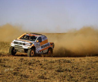Isidre Esteve acaba decimotercero la Baja Aragón y completa su mejor actuación en coche>