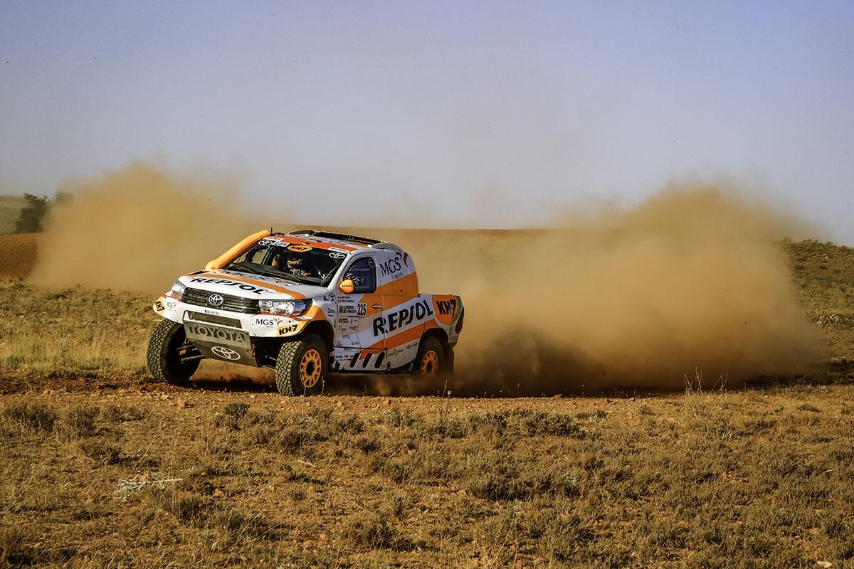 Isidre Esteve acaba decimotercero la Baja Aragón y completa su mejor actuación en coche