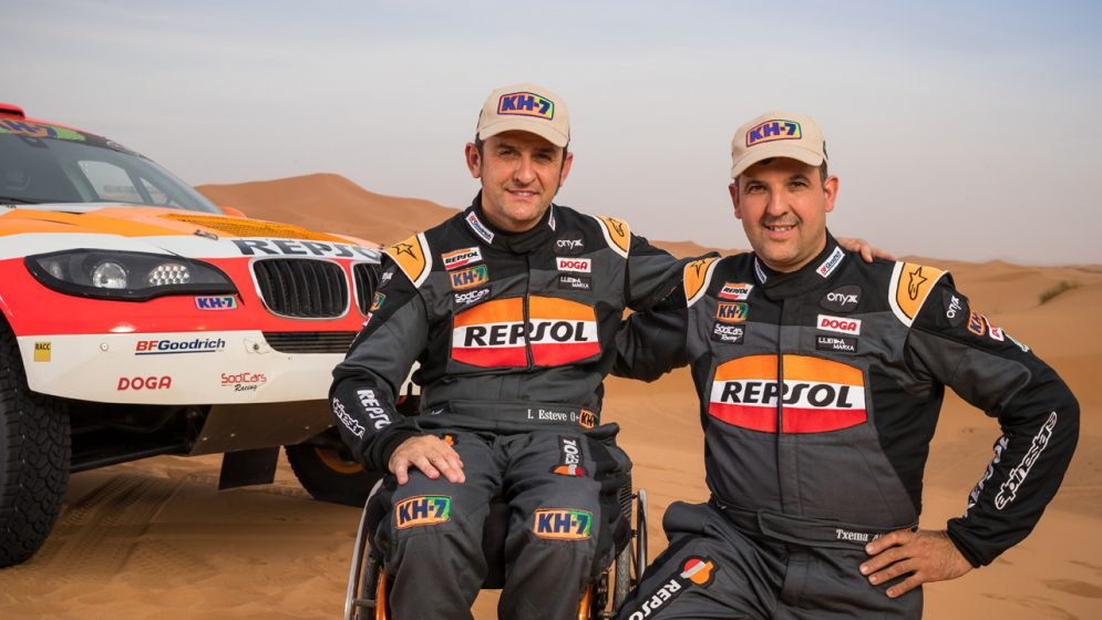 Interview with Isidre Esteve and Txema Villalobos Dakar 2018 Part 2