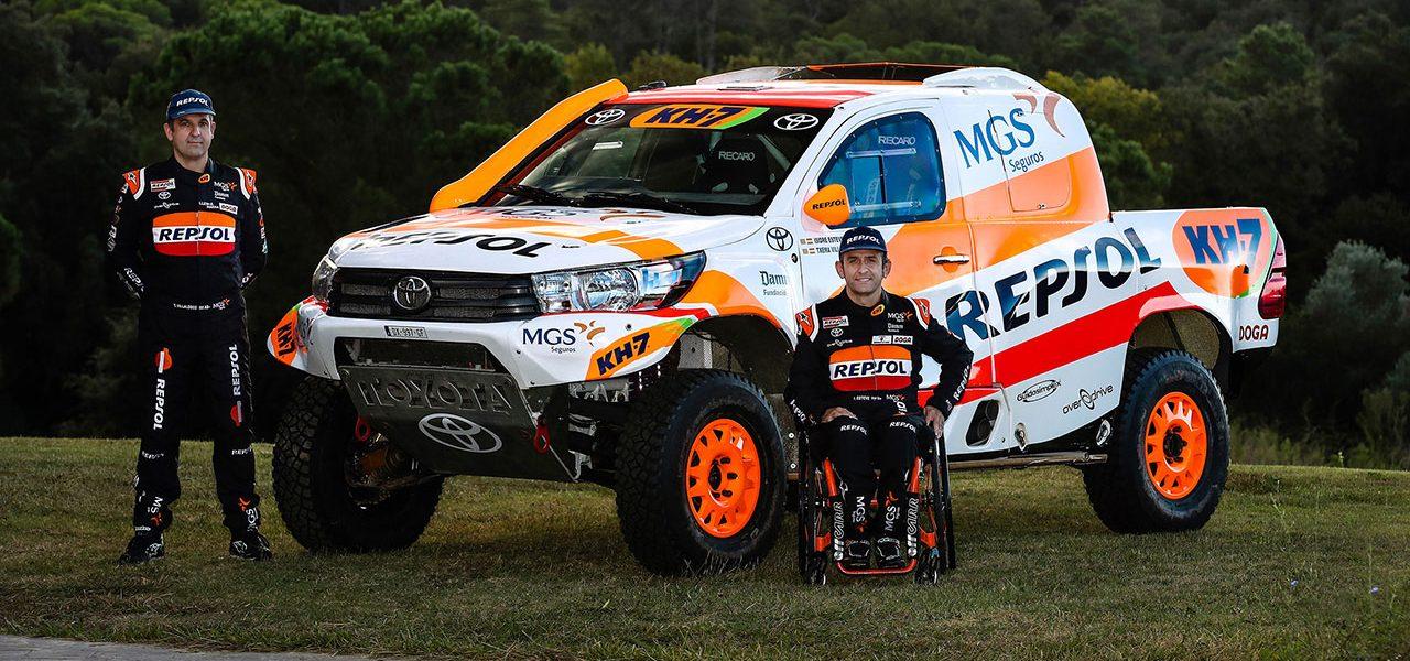Isidre Esteve disputará el Dakar con un Toyota Hilux Overdrive