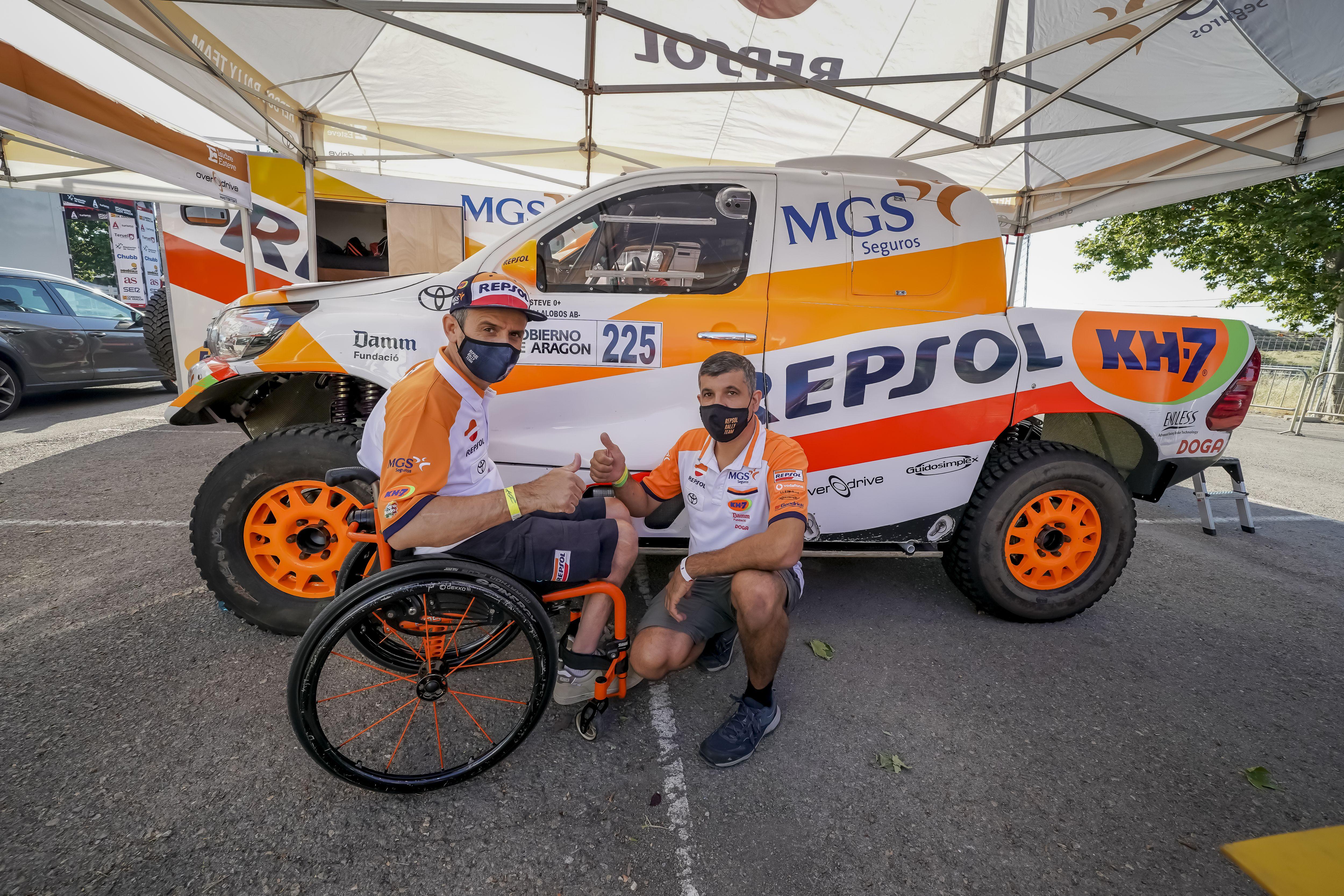 Isidre Esteve busca exprimirse en el Rally de Marruecos 2021