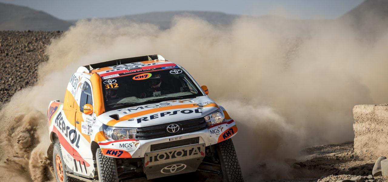 Isidre Esteve se estrena en el Rally de Marruecos 2021