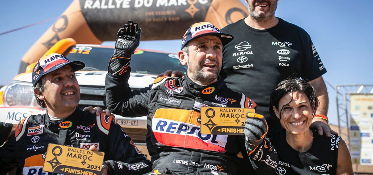 Isidre Esteve acaba 11º absoluto el Rally de Marruecos