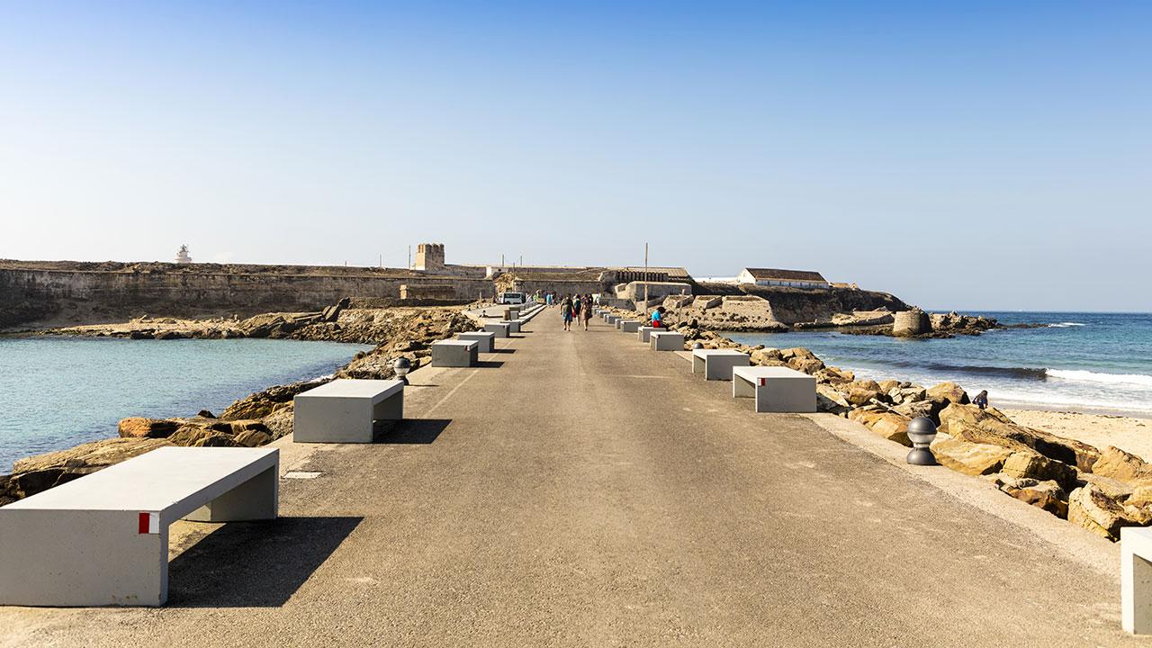 Isla de las Palomas en Tarifa