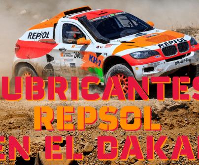 Lubricantes Repsol en el Dakar