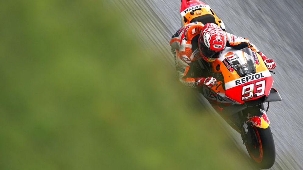 Hard fought fourth pole of the season for Marc Márquez
