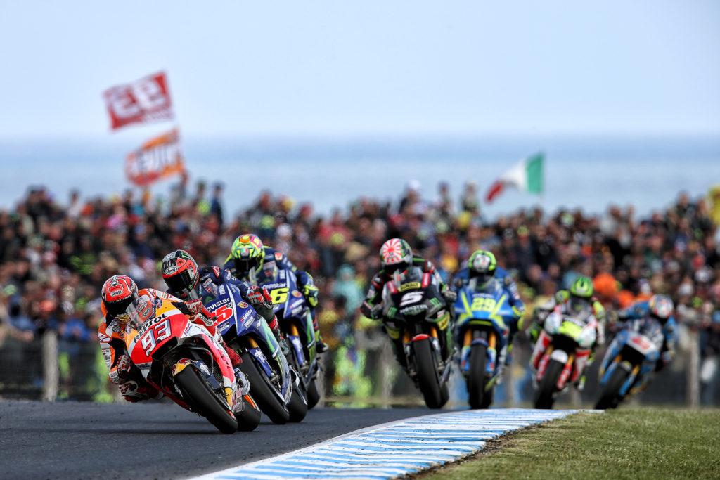 Vibrante victoria de Márquez en Australia que le acerca al título