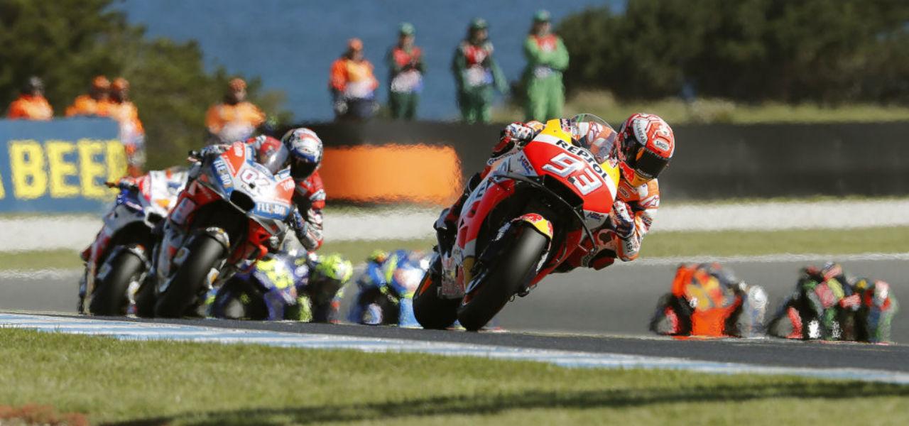 Márquez y Pedrosa, sin puntos en el Gran Premio de Australia