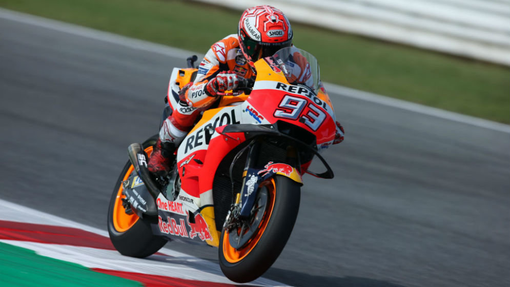 Positive first day for Marc Márquez at Misano