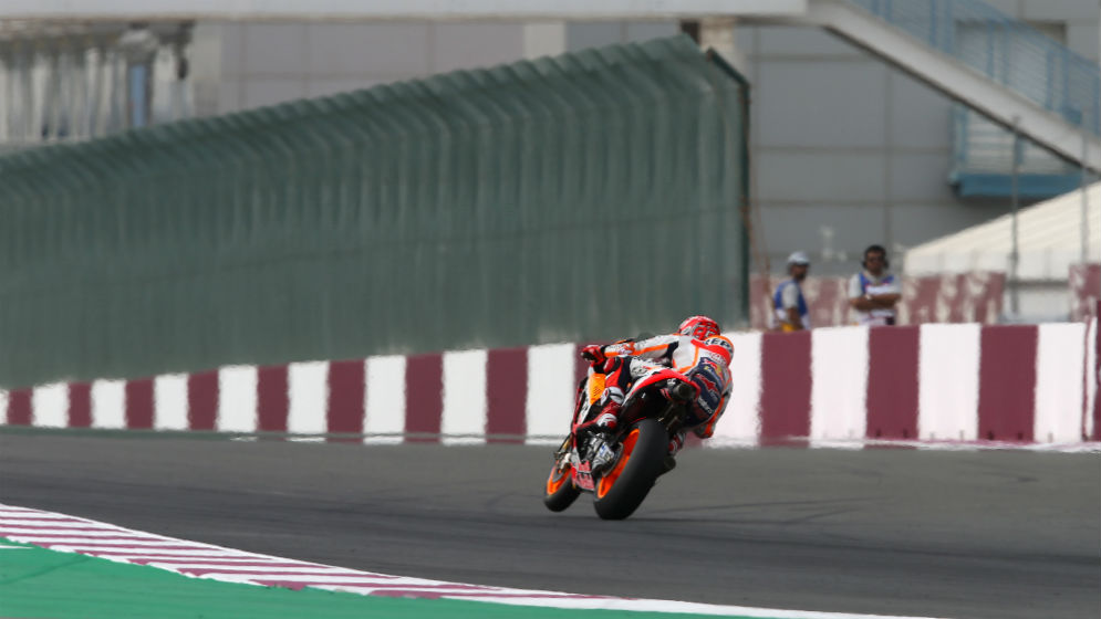 Marc Márquez partirá segundo en el Gran Premio de Catar