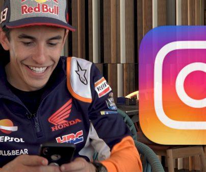 Marc Márquez nos enseña su instagram