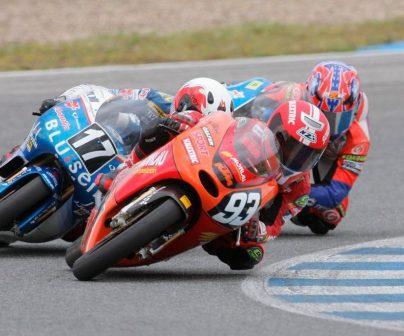 Marc Márquez llegó a competir en MotoGP