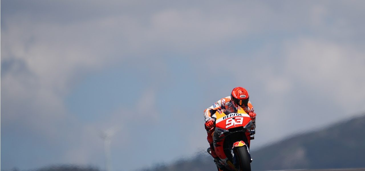 Márquez seventh on return to competition