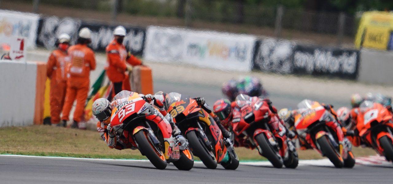Fightback goes unrewarded for Márquez in Gran Premi de Catalunya