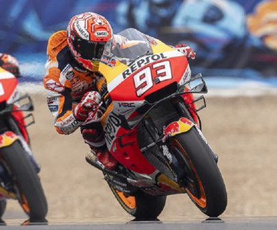 Márquez y Lorenzo en el GP de ESpaña 2019