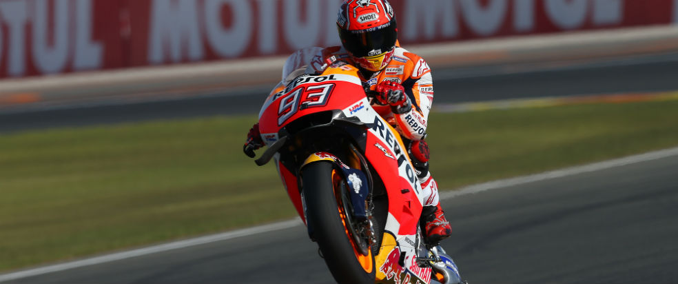 Front row for Marquez and praiseworthy third row for Pedrosa