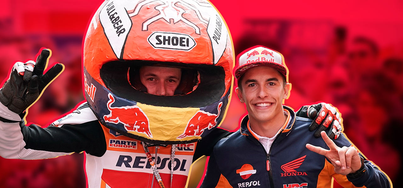 En el Campeonato del Mundo de MotoGP el espectáculo también está en las gradas