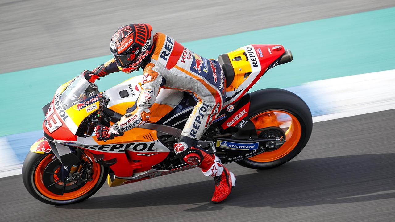 Five key factors in riding a MotoGP bike
