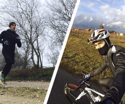Deportes de invierno con los pilotos Repsol Honda
